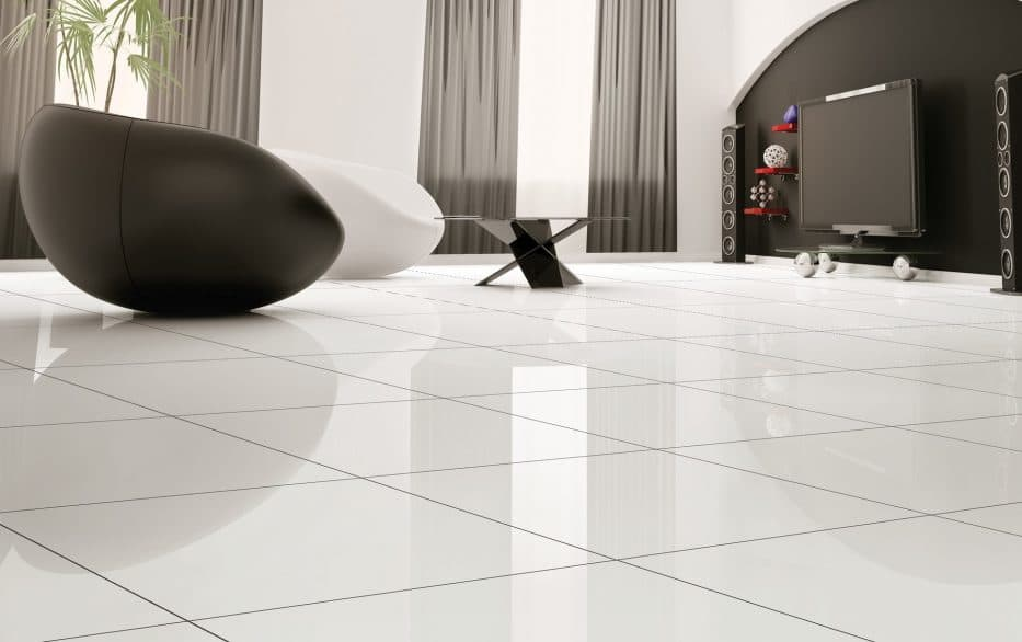 Bare Decor EZFloor Interlocking Flooring Tiles in Solid