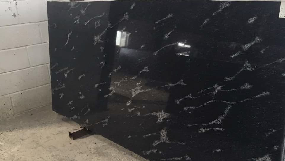 River White Black Granite