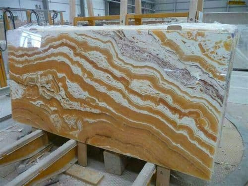 Yellow Wave Turkey Marble
