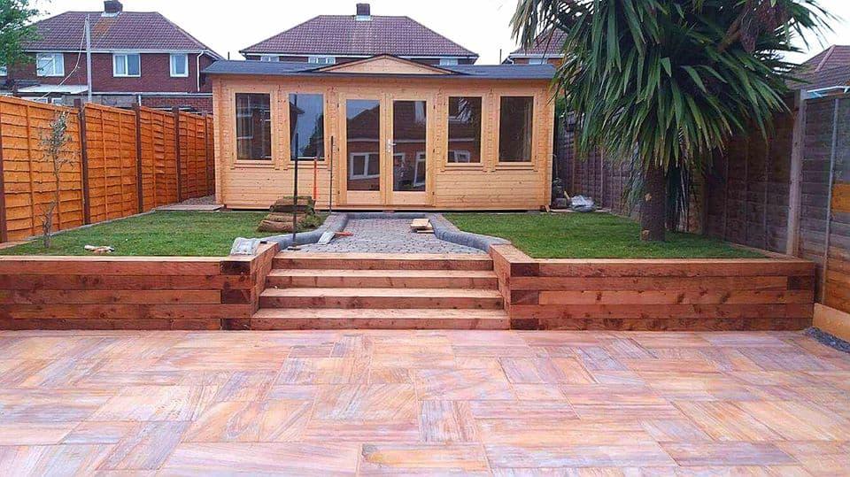 Rainbow Sandstone Tiles For Exterior Flooring Rk Marble