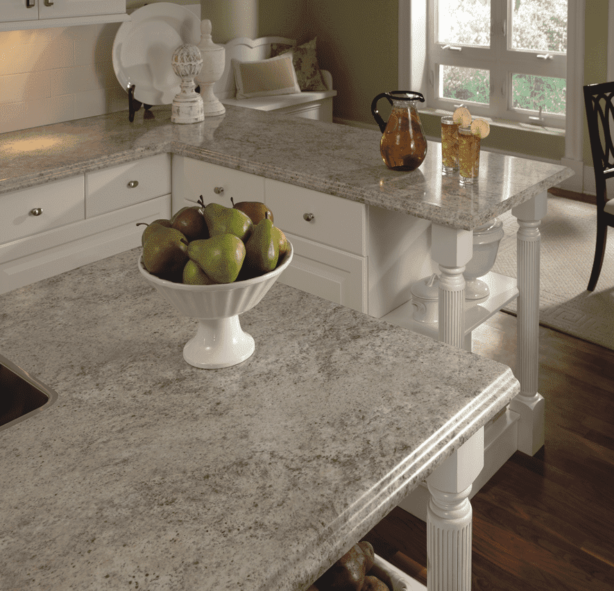 White Galaxy Granite Kitchen: White Galaxy