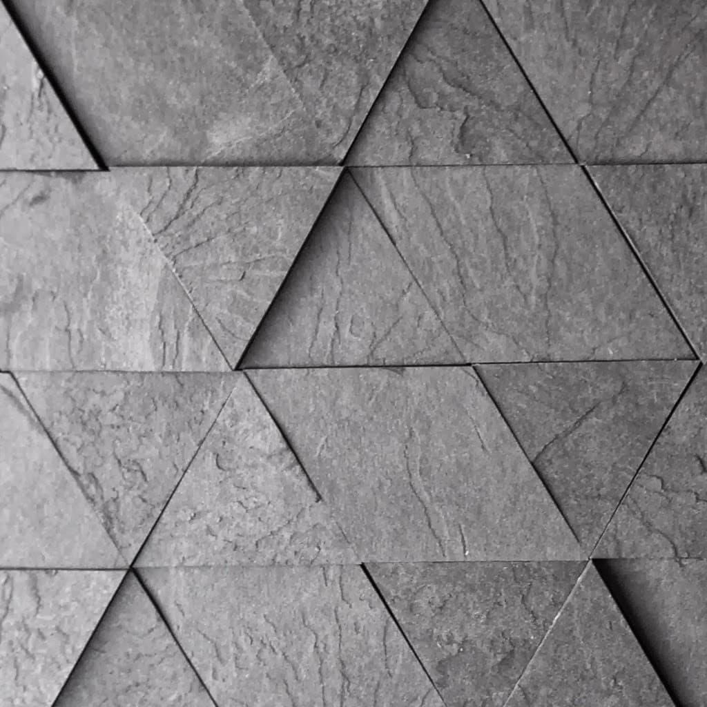 Leather black slate