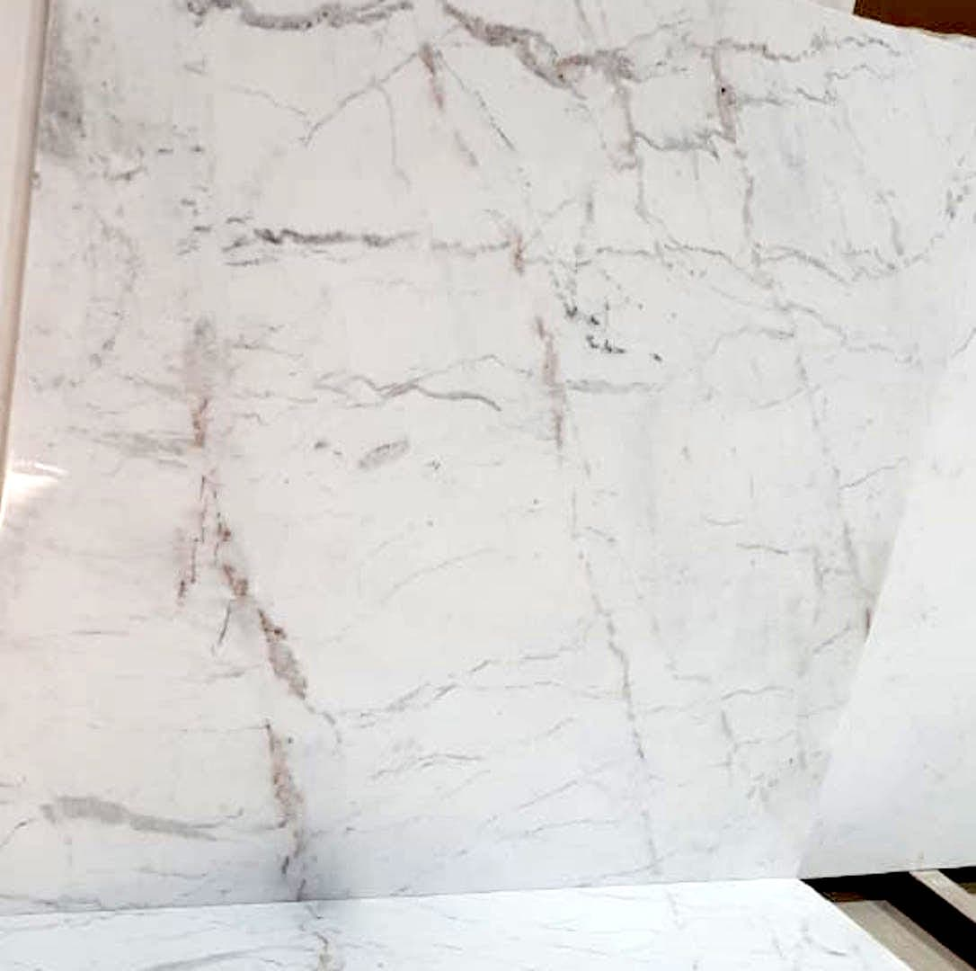White Indian Statuario Marble