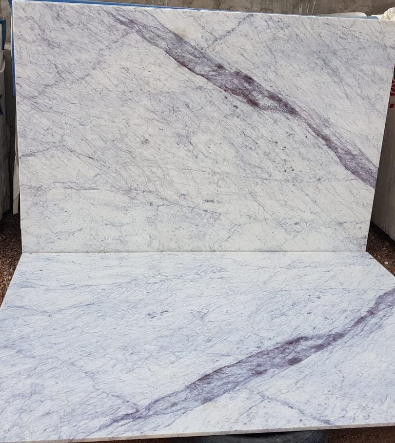 Purple Carrara Marble