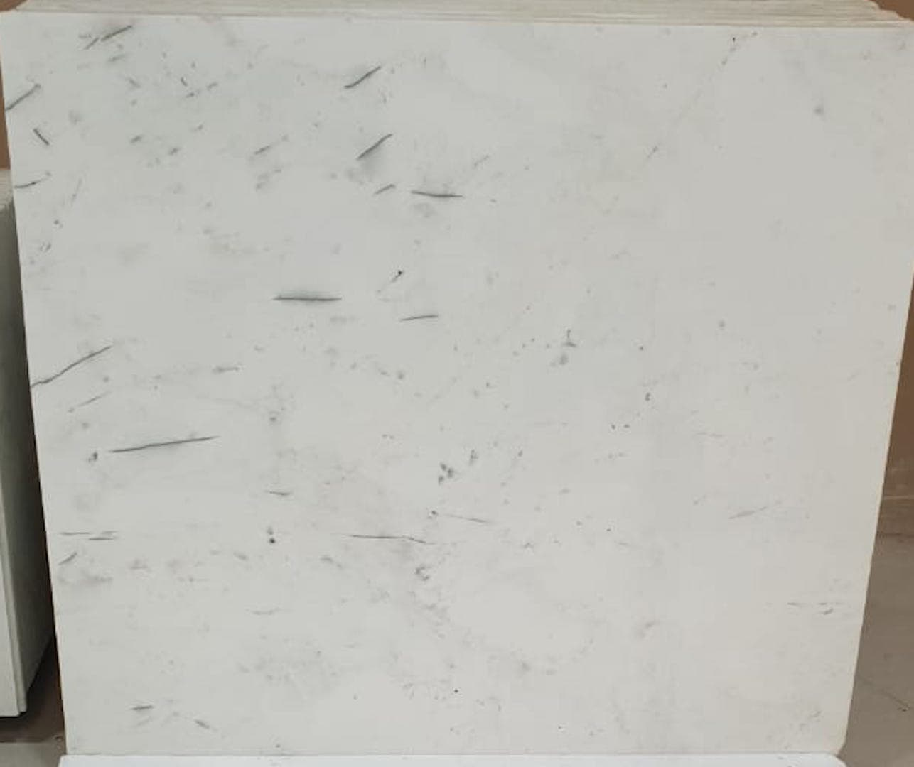Splash White Marble