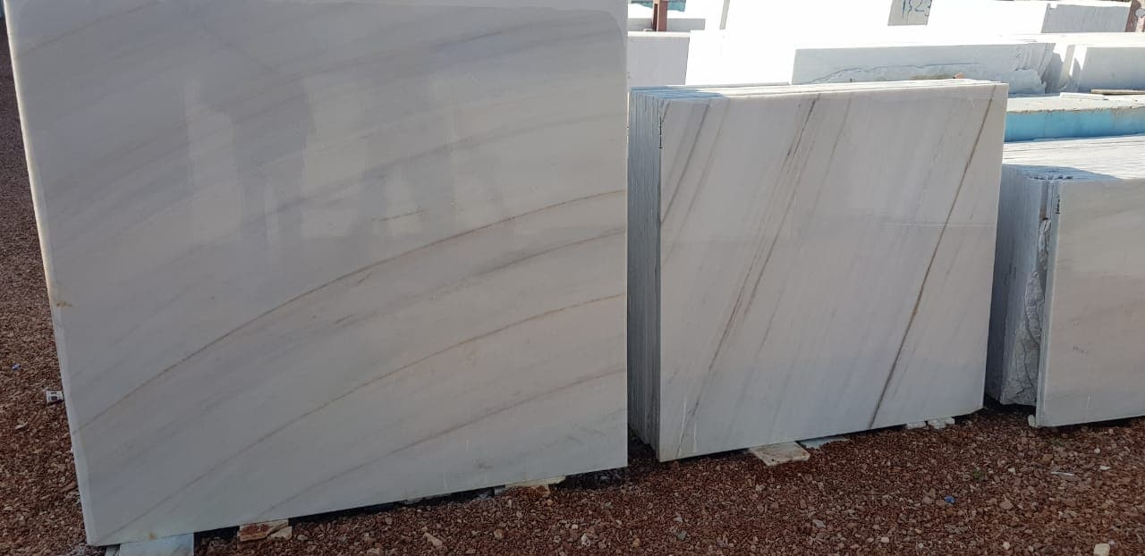 Nizarna White Marble