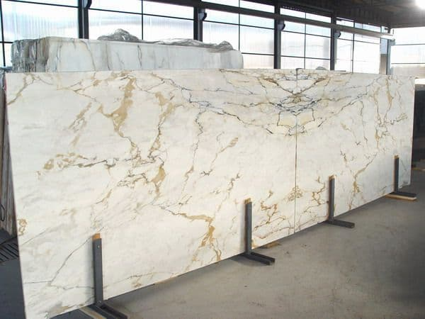 Golden Calacatta Marble