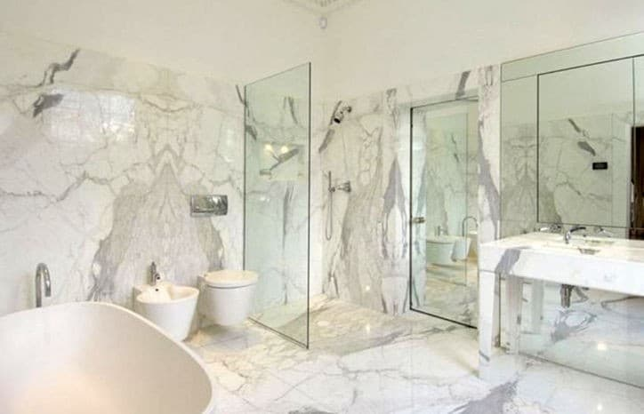 Image result for calacatta marble flooring