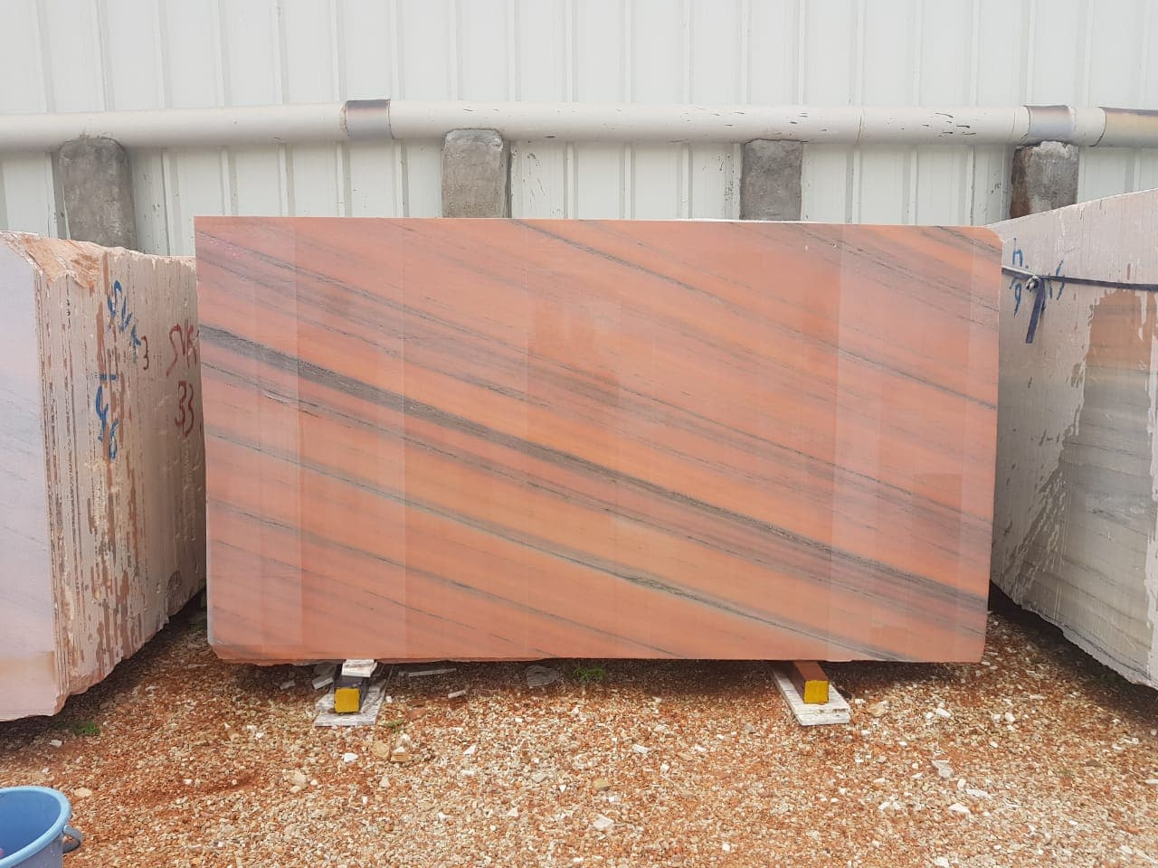 Carrot Pink Marble