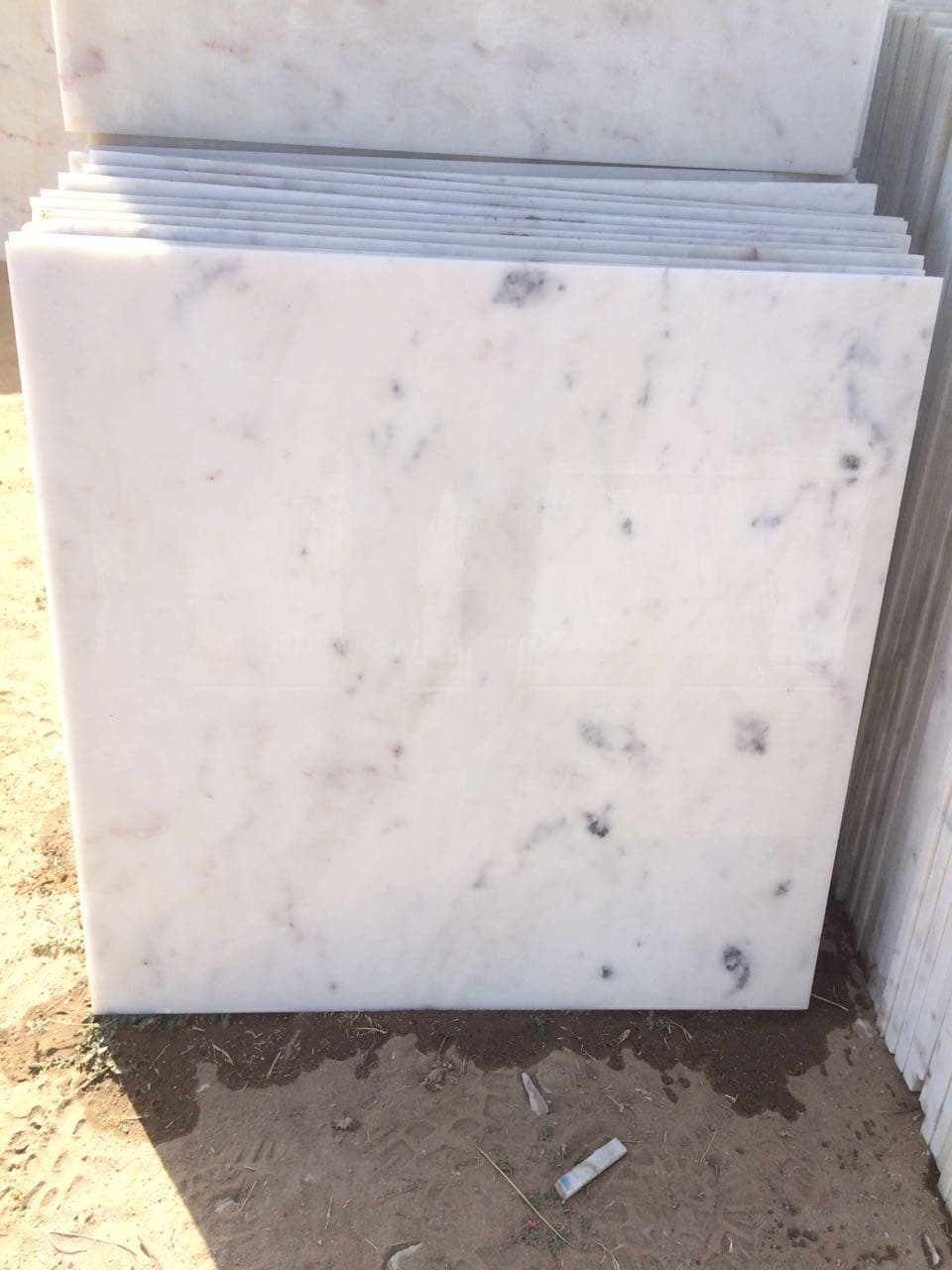 Bliss White Marble Tiles
