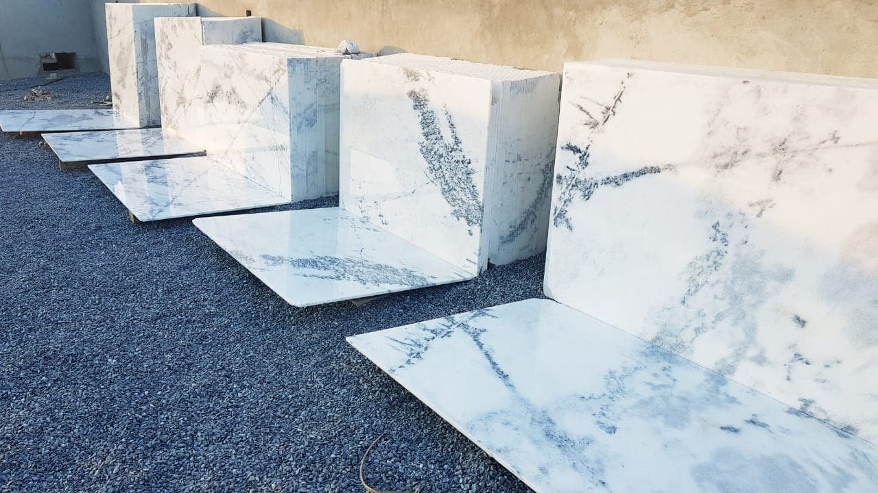 White marble | White marble for flooring - RK MARBLE GROUP