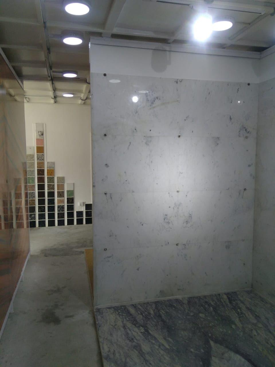 Bliss White Marble Tiles