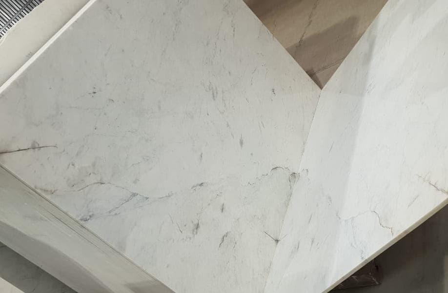 Almond white Marble Tiles