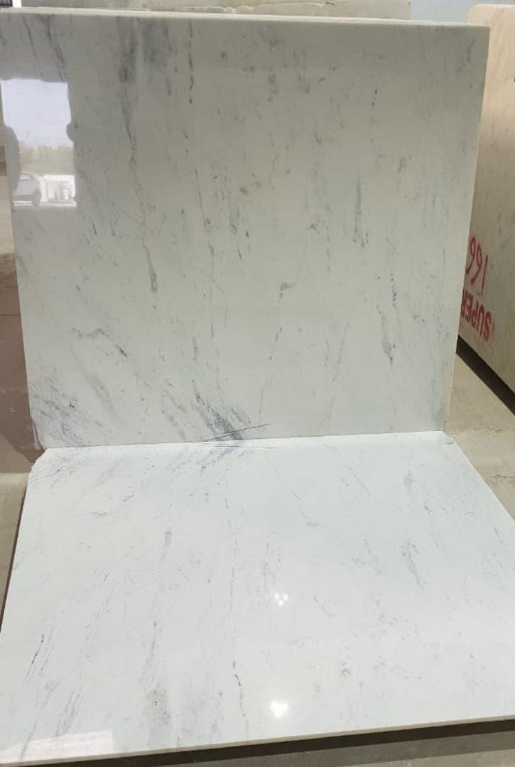 Splash White Marble