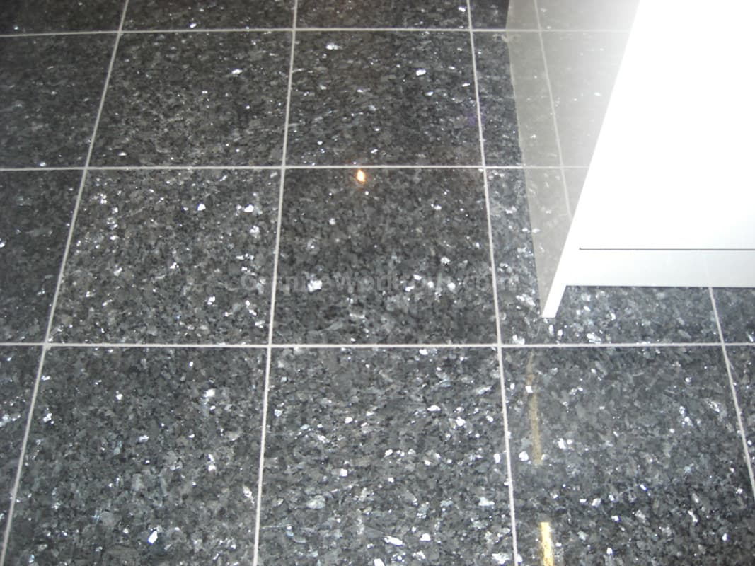 Black Pearl Granite Tiles Approx 250 Square Feet