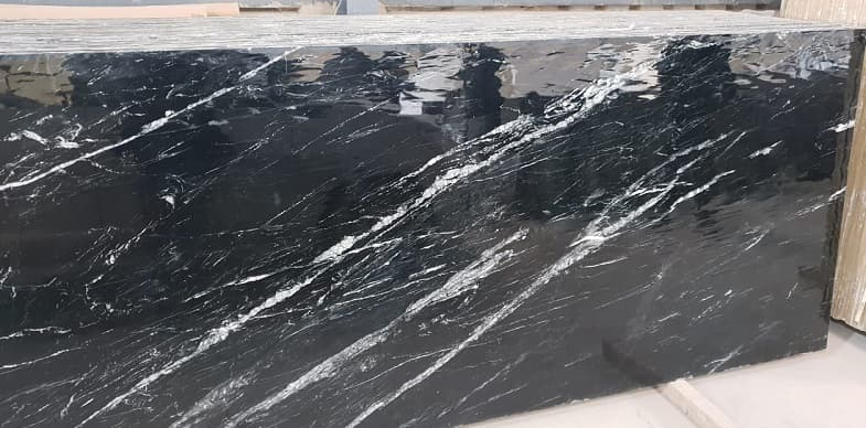 Indian Black Marquino Marble