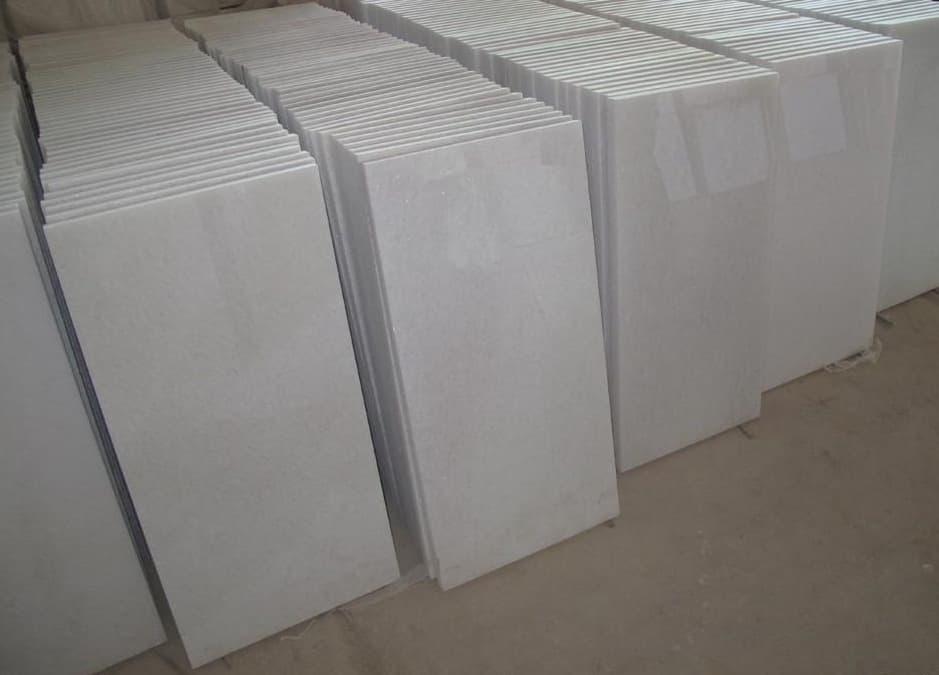 Makrana White Marble Tiles