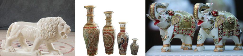 Handicrafts Makrana Marbles