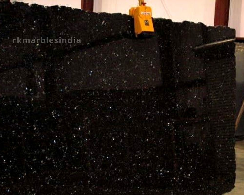 black galaxy white star granite